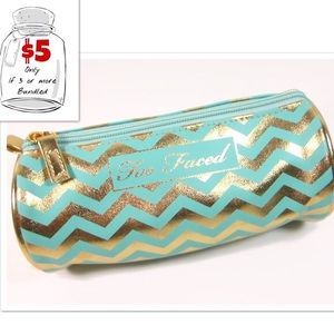 New TOO FACED Makeup Cosmetic Bag